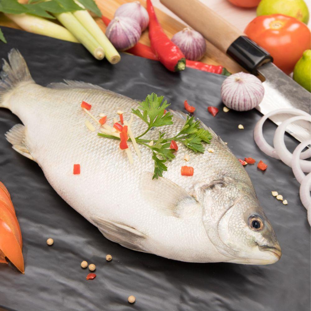 Fresh Fish and Prawn