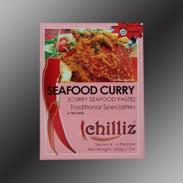 Chilliz Seafood Curry Sauce